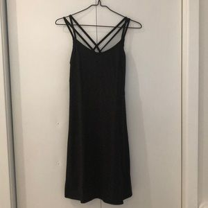 Black Heathered North Face Dress size small